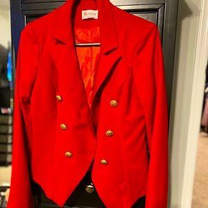 Red blazer - size medium